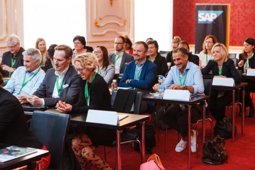 Session von SAP am HR Inside Summit in der Hofburg