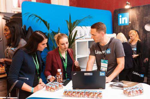 Popup Workshop von Linked In am HR Inside Summit in der Hofburg